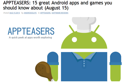 appteasers