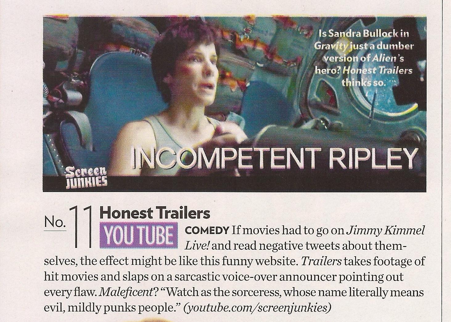 Honest Trailers Peoples Picks