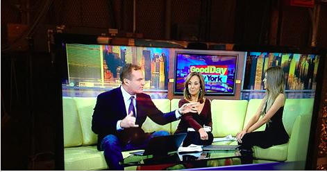 Client Meghan Rienks pops into Good Day New York to talk about Fashion Week.