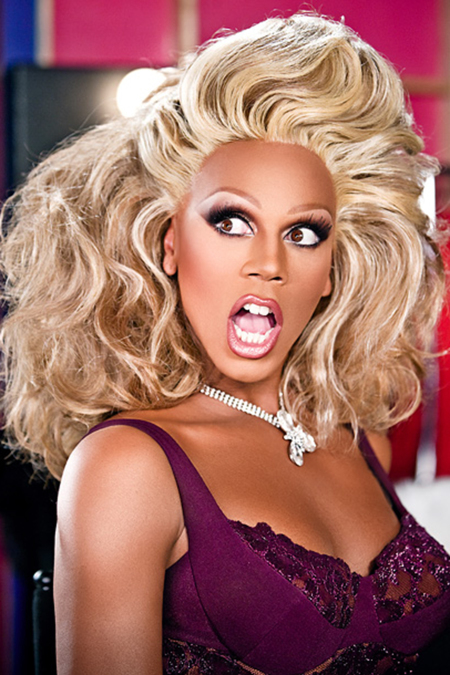 RUPAUL2009on set of RuPaul's Drag Race (on Logo)